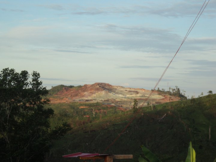 The sacred mountain of Canatuan as mined by TVI