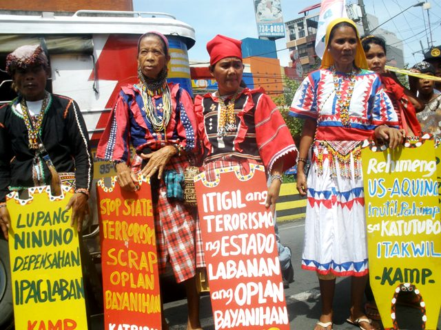 Indigenous peoples march on World Indigenous Peoples Day
