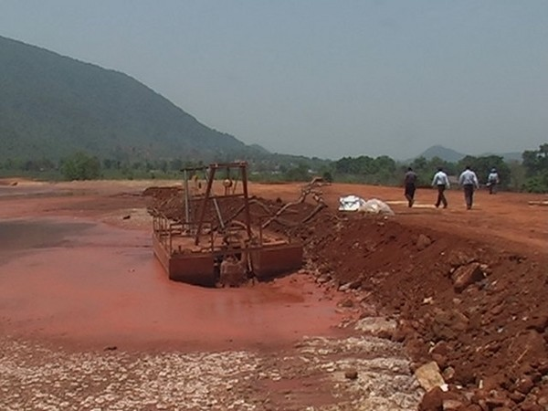 Red mud pond at Lanjigarh