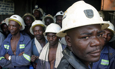 Zambian copper workers