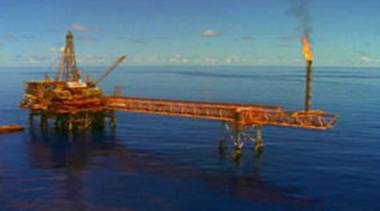 Mining rig: a Canadian group plans to use existing technology from the offshore oil and gas industries to mine up to two kilometres below the sea surface off northern Papua New Guinea