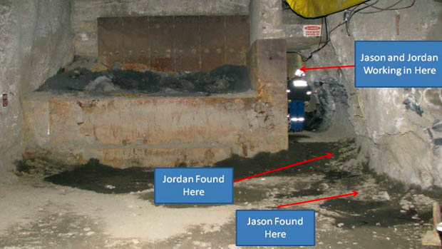 Jason Chenier and Jordan Fram found buried alive in avalanche of rocks and water at Vale's Stobie nickel mine, Ontario