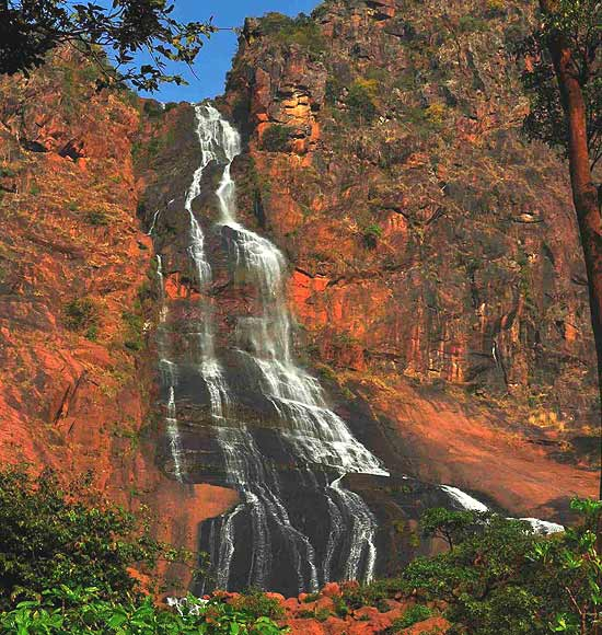 Khandadhar waterfall threatened by mining